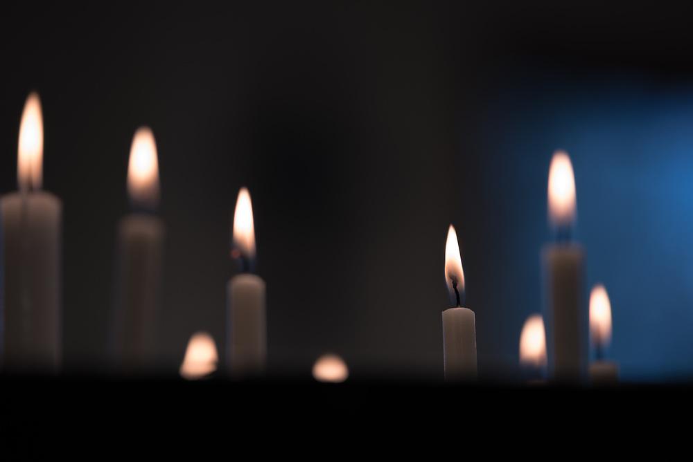 11 April 2017, Stockholm, Sweden: Evening prayers in the Easter week, in the Skarpnäck Parish, Church of Sweden.