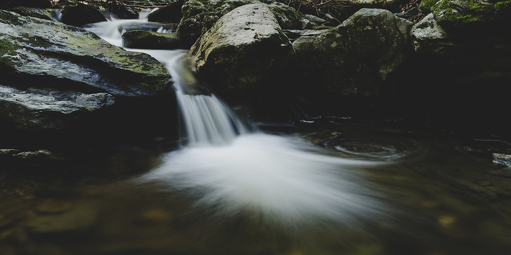A river stream in the hills of Western Massachusetts.