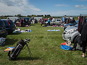 Pevencey Bay car boot sale, East Sussex. 27 May 2019