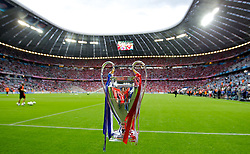 19.05.2012, Allianz Arena, Muenchen, GER, UEFA CL, Finale, FC Bayern Muenchen (GER) vs FC Chelsea (ENG), im Bild The winner's throphy before the Final Match of the UEFA Championsleague between FC Bayern Munich (GER) vs Chelsea FC (ENG) at the Allianz Arena, Munich, Germany on 2012/05/19. EXPA Pictures © 2012, PhotoCredit: EXPA/ Propagandaphoto/ David Rawcliff..***** ATTENTION - OUT OF ENG, GBR, UK *****