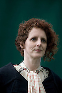 Irish author Karen Maggie O'Farrell pictured at the Edinburgh International Book Festival where she talked her work. The three-week event is the world's biggest literary festival and is held during the annual Edinburgh Festival. 2008 was the Book Festival's 25th anniversary and featured talks and presentations by more than 500 authors from around the world.