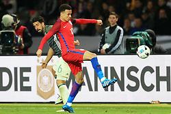 Englands Dele Alli takes on Germanys Sami Khedira - Mandatory by-line: Matt McNulty/JMP - 26/03/2016 - FOOTBALL - Olympiastadion - Berlin, Germany - Germany v England - International Friendly