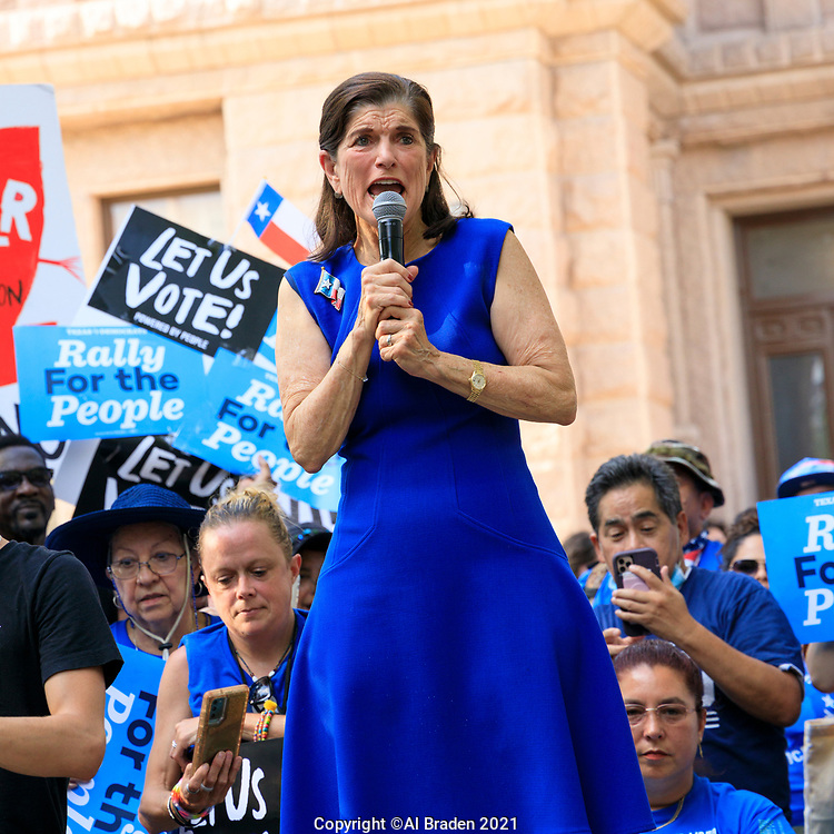 For The People Rally, Austin, Texas Capitol June 20, 2021
