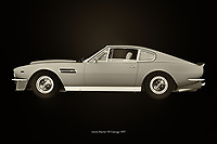 The Aston Martin Vantage radiates class. In the 1970s there was a clear need for yet another stylish model that radiated British phlegm. With this Aston Martin Vantage, Aston Martin Vantage more than fulfilled that task. –<br /> <br /> BUY THIS PRINT AT<br /> <br /> FINE ART AMERICA<br /> ENGLISH<br /> https://janke.pixels.com/featured/aston-martin-vantage-1977-black-and-white-jan-keteleer.html<br /> <br /> WADM / OH MY PRINTS<br /> DUTCH / FRENCH / GERMAN<br /> https://www.werkaandemuur.nl/nl/shopwerk/Aston-Martin-Vantage-1977/742740/132?mediumId=11&size=75x50<br /> <br /> -
