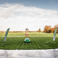 View from the entrance at Stowe House at Rennsport Collective, Buckinghamshire, UK, on 1 November 2020