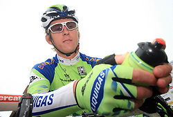 Maciej Bodnar of Poland (Liquigas) just before start in last 4th stage of the 15th Tour de Slovenie from Celje to Novo mesto (157 km), on June 14,2008, Slovenia. (Photo by Vid Ponikvar / Sportal Images)/ Sportida)