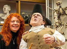 Anatomical Museum display, Edinburgh, 18 December 2018