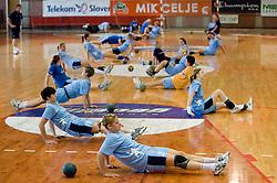 Neza Mitrusevska at practice of Slovenian Handball Women National Team, on June 3, 2009, in Arena Kodeljevo, Ljubljana, Slovenia. (Photo by Vid Ponikvar / Sportida)