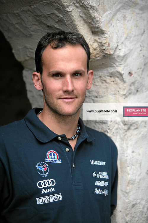 Stéphane Tissot - Ski Alpin - présentation de l'équipe de France de ski 2007-2008 - Photos exclusives - 9/10/2007 - JSB / PixPlanete