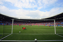 Warming up of Croatian natioanl team before the UEFA EURO 2008 Group B soccer match between Austria and Croatia at Ernst-Happel Stadium, on June 8,2008, in Vienna, Austria.  (Photo by Vid Ponikvar / Sportal Images)
