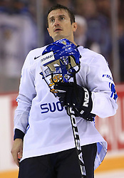 Ville Peltonen of Finland at ice-hockey match Finland vs USA at Qualifying round Group F of IIHF WC 2008 in Halifax, on May 11, 2008 in Metro Center, Halifax, Nova Scotia, Canada. (Photo by Vid Ponikvar / Sportal Images)
