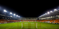 A general view of Bloomfield Road, home of Blackpool<br /> <br /> Photographer Alex Dodd/CameraSport<br /> <br /> The FA Youth Cup Third Round - Blackpool U18 v Derby County U18 - Tuesday 4th December 2018 - Bloomfield Road - Blackpool<br />  <br /> World Copyright © 2018 CameraSport. All rights reserved. 43 Linden Ave. Countesthorpe. Leicester. England. LE8 5PG - Tel: +44 (0) 116 277 4147 - admin@camerasport.com - www.camerasport.com