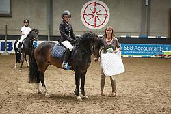 Panis Emmaly (BEL) - Comm's Forest DIlle<br /> 6 jaar B springen<br /> Finale SBB jonge ponies - Oud Heverlee 2014<br /> © Dirk Caremans