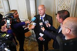 QUESTORE ANTONIO SBORDONE<br /> CONFERENZA ARRESTO FRATELLO ATTENTATORE MARSIGLIA ANIS HANACHI