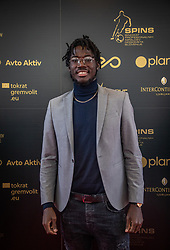 Shamar Nicholson during SPINS XI Nogometna Gala 2019 event when presented best football players of Prva liga Telekom Slovenije in season 2018/19, on May 19, 2019 in Slovene National Theatre Opera and Ballet Ljubljana, Slovenia. ,Photo by Urban Meglic / Sportida