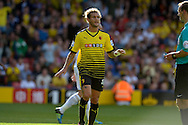 Alessandro Diamanti of Watford looking on. Barclays Premier League, Watford v Swansea city at Vicarage Road in London on Saturday 12th September 2015.<br /> pic by John Patrick Fletcher, Andrew Orchard sports photography.