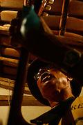 Jaboticatubas_MG, Brasil...Integrante de um grupo da Folia de Reis de Sao Jose da Serra, em uma casa casa da comunidade de Bom Jardim...A member of he Folia de Reis group of Sao Sao Jose da Serra, in a house in Bom Jardim community...FOTO: BRUNO MAGALHAES / NITRO