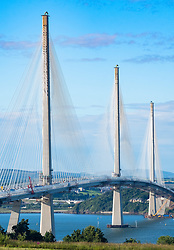 New Queensferry Crossing bridge in Scotland, United Kingdom