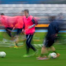 20140114: SLO, Football - Practice session of NK Luka Koper
