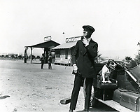 1920 Charles Ray at Chaplin Airdrome at Wildhire Blvd. & Fairfax Ave.