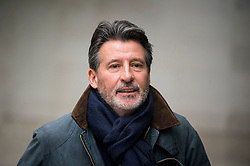© Licensed to London News Pictures. 17/01/2016. London, UK. President of the IAAF Lord SEBASTIAN COE leaves Broadcasting House in London. Photo credit: Ben Cawthra/LNP