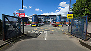 A general view outside Hampden Park ahead of the International Friendly match between Scotland Women and Jamaica Women at Hampden Park, Glasgow, United Kingdom on 28 May 2019.
