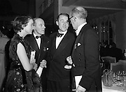 Cyril Cusack and Wife Maureen at Catholic Stage Guild Ball.20/11/1952