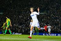 Leeds United's Patrick Bamford celebrates scoring his side's second goal <br /> <br /> Photographer Alex Dodd/CameraSport<br /> <br /> The EFL Sky Bet Championship - Leeds United v West Bromwich Albion - Friday 1st March 2019 - Elland Road - Leeds<br /> <br /> World Copyright © 2019 CameraSport. All rights reserved. 43 Linden Ave. Countesthorpe. Leicester. England. LE8 5PG - Tel: +44 (0) 116 277 4147 - admin@camerasport.com - www.camerasport.com