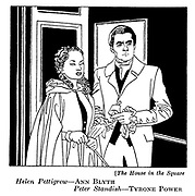 The House in the Square : Ann Blyth and Tyrone Power..
