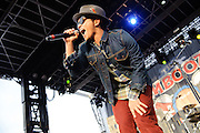 Bruno Mars performs at the Bamboozle Music Festival. Meadowlands Sports Complex, East Rutherford, NJ.  April 30, 2011. Copyright © 2011 Todd Owyoung.