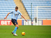 Coventry City's Jack Stephens<br /> <br /> Photographer Andrew Vaughan/CameraSport<br /> <br /> Football - The Football League Sky Bet League One - Coventry City v Fleetwood Town - Saturday 27th February 2016 - Ricoh Stadium - Coventry   <br /> <br /> © CameraSport - 43 Linden Ave. Countesthorpe. Leicester. England. LE8 5PG - Tel: +44 (0) 116 277 4147 - admin@camerasport.com - www.camerasport.com