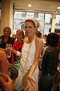 ALEXANDRA AITKEN, Party for House of Waris jewelry collection hosted by Daphne Guinness, Alice Bamford and Wes Anderson. Dover St. market. London. 8 June 2006. ONE TIME USE ONLY - DO NOT ARCHIVE  © Copyright Photograph by Dafydd Jones 66 Stockwell Park Rd. London SW9 0DA Tel 020 7733 0108 www.dafjones.com