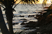 Rocks, waves and surf, Koh Samet, Thailand