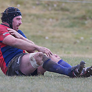 Andrew Hore during the Otago Rugby Final between Maniototo and Arrowtown at Ranfurly, South Island, New Zealand, 9th June 2011
