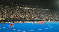 BHUBANESWAR (INDIA) - Het Kalinka Stadion tijdens  kwartfinale tussen India en Nederland (1-2) bij het WK Hockey heren.   COPYRIGHT KOEN SUYK
