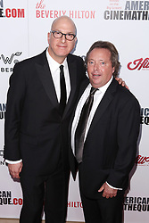 Greg Foster, Richard Gelfond at the 31st Annual American Cinematheque Awards Gala held at the Beverly Hilton Hotel on November 10, 2017 in Beverly Hills, California, USA (Photo by Art Garcia/Sipa USA)