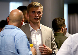 Taylor Moore of Bristol City mingles with guests during the Lansdown Club event - Mandatory by-line: Robbie Stephenson/JMP - 06/09/2016 - GENERAL SPORT - Ashton Gate - Bristol, England - Lansdown Club -