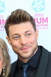 © London News Pictures. Duncan James, Tesco Mum of the Year Awards, The Savoy Hotel, London UK, 23 March 2014, Photo by Richard Goldschmidt/LNP