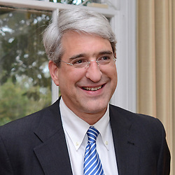 Peter Salovey President, Yale University. Tight crop head shot taken 6 September 2012.