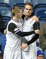 Football - League Cup - Rangers vs Inverness Caley Thistle<br /> <br /> Ian MacNicol/Colorsport<br /> <br /> Andrew Shinnie of ICT celebrates after he scores during the Rangers vs Inverness Caley Thistle League Cup Quarter Final match at Ibrox Stadium, Glasgow<br /> <br /> 31st October 2012