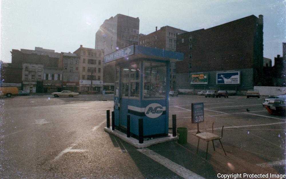 9th and E St NW Washington DC, 06/1986