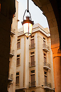 The facade of the recently rebuilt Downtown area, containing many luxury shops, Beirut, Lebanon