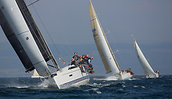 Largs Regatta Week 2015, hosted by Largs Sailing Club and Fairlie Yacht Club<br /> <br /> GBR8038R, Roxstar, XP38i, Findlay/Anderson, CCC<br /> <br /> Credit Marc Turner
