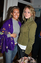 Left to right, MISS OLIVIA BUCKINGHAM and MISS NATALIE BURGUN at a party to celebrate the opening of children's store Chippi Hacki at 8 Motcomb Street, London, SW1 on 24th November 2004.<br /><br />NON EXCLUSIVE - WORLD RIGHTS