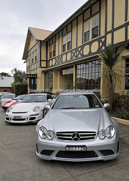 2008 Mercedes Benz AMG CLK 63 Black Series (Iridium Silver) .Corporate Drive Day with Octane Events & The Supercar Club.Mornington Pennisula, Victoria .6th-7th of August 2009 .(C) Joel Strickland Photographics