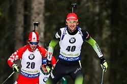 Jakov Fak (SLO) during Men 20km Individual at day 5 of IBU Biathlon World Cup 2018/19 Pokljuka, on December 6, 2018 in Rudno polje, Pokljuka, Pokljuka, Slovenia. Photo by Ziga Zupan / Sportida