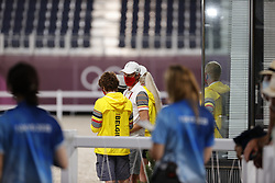 Team Belgium, Desmedt Jef, Laeremans Wendy<br /> Olympic Games Tokyo 2021<br /> © Hippo Foto - Stefan Lafrentz<br /> 30/07/2021