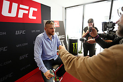 07.04.2016, Zagreb, CRO, UFC Fight Night, Pressekonferenz, im Bild Jan Blachowicz, // Fighters during the press conference before UFC Fight Night at Zagreb, Croatia on 2016/04/07. EXPA Pictures © 2016, PhotoCredit: EXPA/ Pixsell/ Dalibor Urukalovic<br /> <br /> *****ATTENTION - for AUT, SLO, SUI, SWE, ITA, FRA only*****