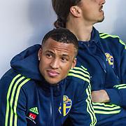 Malmö  2016 05 30 Swedbank stadion<br /> Practice game at Swedbank Stadion<br /> Sweden vs Slovenia<br /> Zlatan Ibrahimovich<br /> Martin Olsson<br /> <br /> <br /> ----<br /> FOTO : JOACHIM NYWALL KOD 0708840825_1<br /> COPYRIGHT JOACHIM NYWALL<br /> <br /> ***BETALBILD***<br /> Redovisas till <br /> NYWALL MEDIA AB<br /> Strandgatan 30<br /> 461 31 Trollhättan<br /> Prislista enl BLF , om inget annat avtalas.