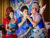 Likay at Nonthaburi Temple Fair